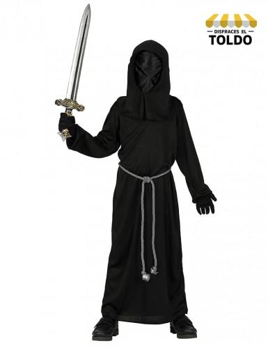 Disfraz Chico Oscuridad 7-9 Años Disfraces de Miedo